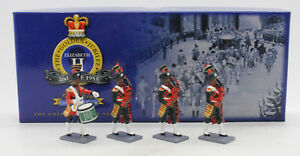 W BRITAINS COLLECTORS CLUB 40306 PAKISTAN ARMY PIPES & DRUMS SET 3 (UV9)