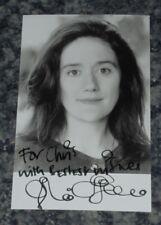 SOPHIE THOMPSON -CORONATION ST /HARRY POTTER - POSTCARD PHOTO SIGNED- (DEDICATED