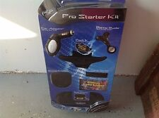 PSP Pro Starter Kit: Cases, Neck Strap, Screen Protector, Dock Station NEW in Pk