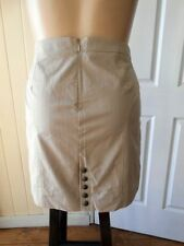 Cotton Blend Straight, Pencil Striped Skirts for Women