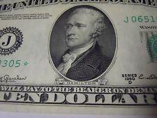 1950 D Series Star Note $10 Kansas City Federal Reserve Note UNC FR-2014J*