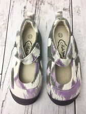 Madie Jane Girls Shoes Mary Jane Purple Gray Green Size 23