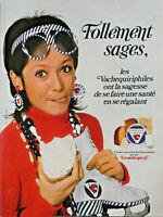 PUBLICITÉ DE PRESSE 1971 LA VACHE QUI RIT TELLEMENT SAGES LES VACHEQUIRIPHILES