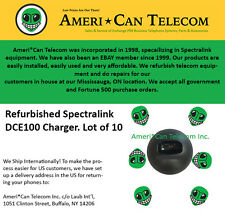 Spectralink Polycom Refurbished DCE100 Chargers (Lot of 10)