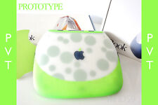 """Apple iBook Clamshell BOXED """"KEY LIME GREY"""" PVT Prototype S.E DVD ⭐️⭐️⭐️⭐️⭐️"""
