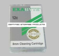 NEW Exabyte 8mm 12C Cleaning Tape Cartridge 727386 MP 12 Cleans Factory Sealed