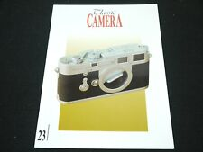 CLASSIC CAMERA ISSUE 23 ZEISS IKON/LEICA/ROLLEI (AUG 2002)