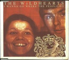 Ginger WILDHEARTS I wanna Go Where the People GO w/ 3 UNRLEASED CD single SEALED
