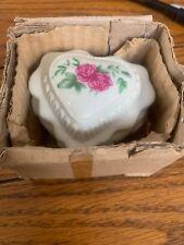 CUTE Flower Ceramic Jewelry Box