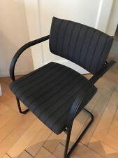 Stoffbezug Braun Sitzmöbel Sitag Freischwinger Besucherstuhl Konferenzstuhl Stuhl