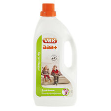 Vax 1.5 Litre Aaa+ Carpet Upholstery Cleaner Shampoo Liquid Cleaning Solution