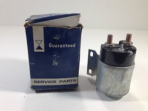 Vintage Guaranteed Parts Co. STS-2 Starter Solenoid New Old Stock ST111 ST112