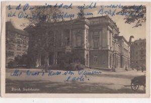 Zuerich Stadttheater Switzerland 1931 RPPC Postcard US073