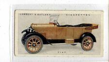 (Jb4259-100)  LAMBERT & BUTLER,MOTOR CARS A SERIES GREEN,FIAT,1922#17