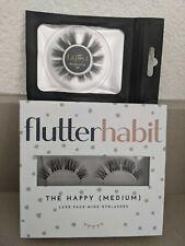 flutterhabit Happy Medium + LaJoya La Joya Barefaced Full Faux Mink Lashes