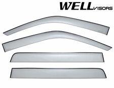 WellVisors Side Window Visors Deflectors For 93-98 Volkswagen Golf MK3 Hatchback