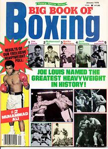 "1978--""BIG BOOK OF BOXING"" MAG--LOUIS, ALI, ROCKY, DEMPSEY,JOHNSON COVER--XLNT"