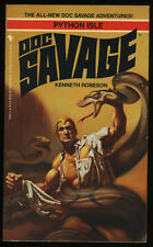 Doc Savage: Python Isle (All New Adventures) PBO 1st/1st