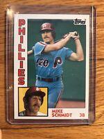 1984 Topps Mike Schmidt Philadelphia Phillies #700 Baseball Card
