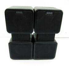 Altec Lansing 2 Way Mini Tower System 3 Black Bookshelf Speakers 8 Ohms 160 Watt