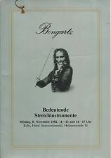BONGARTZ MUSICAL INSTRUMENT Violin Bow Bergonzi Rocca Vuillaume Guarneri Camilli