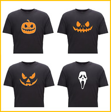 Halloween Pumpkin T-Shirt Scary Trick or Treat scream fancy dress horror costume