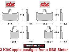 839HS - 2 CP Pastiglie Freno Ant. SBS Sinter per YAMAHA YZF 1000 R1 dal 2007