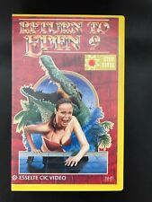Return To Eden 9 Ex-Rental Vintage Big Box VHS Tape English with dutch subs