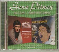 Gene Italiano/Nessuno Mi Puo Guidicare by Gene Pitney (CD, 1999) NEW Import UK