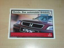 29096) Honda Civic Legend Accord Prospekt 1997