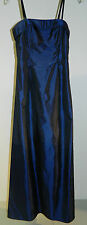 Jessica McClintock Colbalt Blue Holiday Party Ball Gown Long Formal Dress Size 5