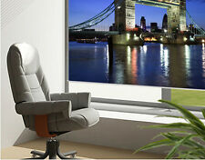 RB88 - LONDON TOWER BRIDGE AT NIGHT PICTURE PRINTED PHOTO ROLLER BLIND