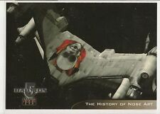 Babylon 5 Season 4 Trading Cards Starfury Aviation Art Chase Card V1 History