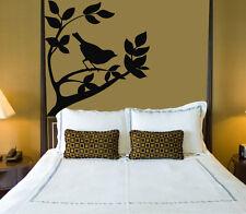 Animal Bird Tree Sparrow On A Branch Decor Wall Mural Vinyl Sticker i004