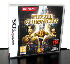 PUZZLE CHRONICLES GIOCO NUOVO PER NINTENDO DS e 3DS IN EDIZIONE ITALIANA PG171