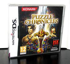 Puzzle Chronicles Nintendo DS Konami