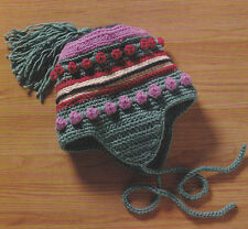 Crochet Pattern ~ KIDS WINTER HELMET HAT ~ Instructions