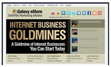 Money-Making Wordpress INTERNET MARKETING eBook Store + 3 Affiliate Commissions