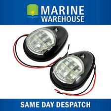 LED Navigation Lights - Port and Starboard - Pair - Black Shroud 705157