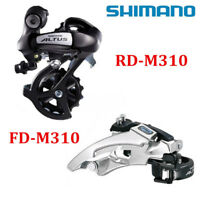SHIMANO Altus 7/8 Speed M310 Front Rear Derailleur Group FD-M310 RD-M310