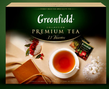 Greenfield Premium Teas Collection 120 bags Gift Set Green Black Herbal Quality