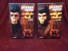 Sideshow Planet of the Apes Cornelius & Zira 1/6 figures MIB POTA zaius ursus