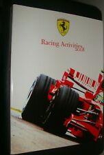 Ferrari Racing Activities 2008  , Large Heavy Softbound Book , Rare