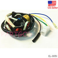 Fit GY6 50cc 150cc ign Stator Magneto 6 Coil Scooter Moped ATV TAOTAO JCL  EL-51