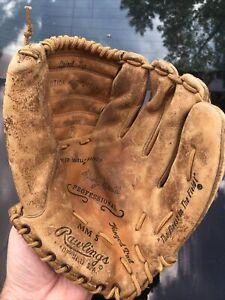Vintage Rawlings Model MM9 Mickey Mantle Triple Crown Baseball Glove - RHT