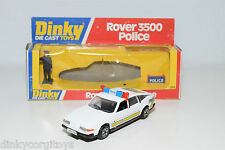 DINKY TOYS 264 ROVER 3500 POLICE MINT BOXED