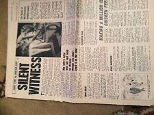 U1-9 ephemera 1968 short story silent witness jonathan clark