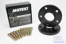 Muteki Forged 15mm Hub Centric Wheel Spacer 5x114 67.1 + Stud 12x1.5 14.38 Knurl