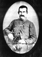 Confederate General John McCausland PHOTO Civil War CSA Cavalry Commander