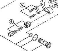 Shimano RD-M760 stroke screws / plate